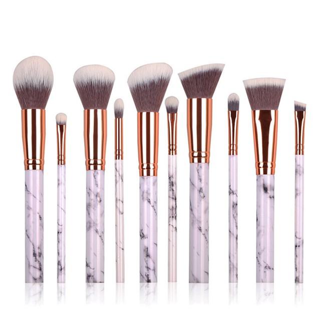 10 pcs Cosmetic Makeup Brush Blusher Eye Shadow Brushes Set Kit 18