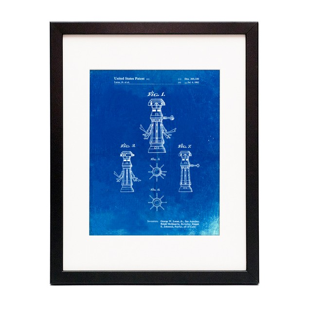 Star Wars FX-7 Medical Droid Patent Poster