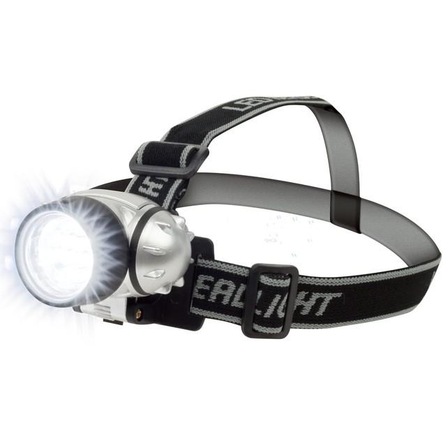 Stalwart 12 LED Headlamp with Adjustable Strap