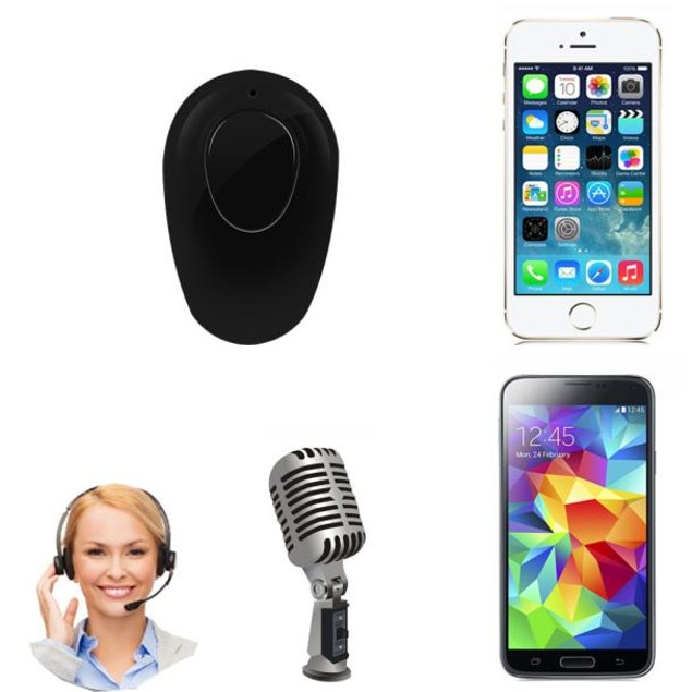 Mini Wireless Bluetooth Stereo In-Ear Earphone Headphone Headset Earpiece
