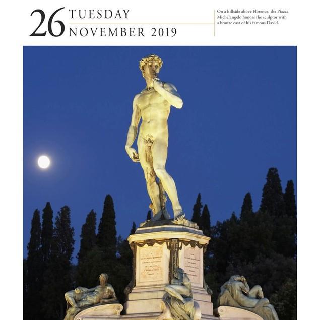 Italy Gallery Desk Calendar, Italy by Calendars