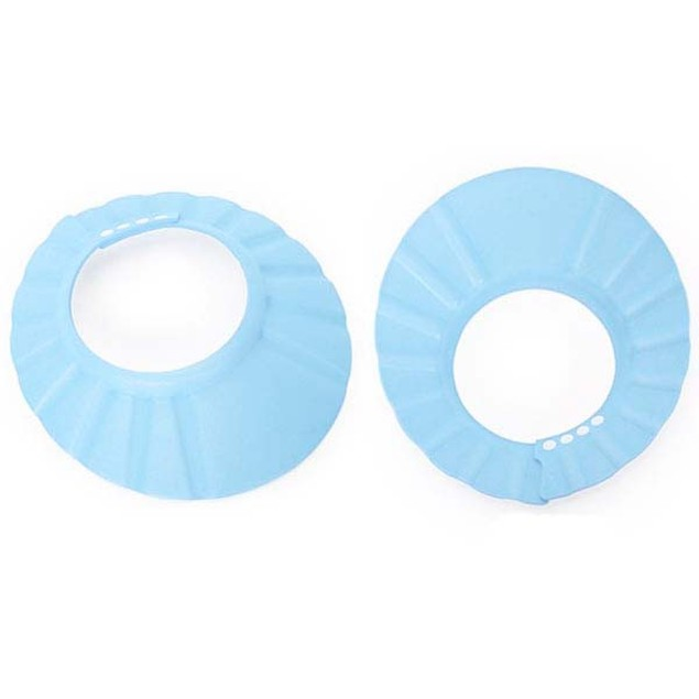 1pc Adjust Bathing Bath Protect Soft Hat ShampooShower Cap For Baby