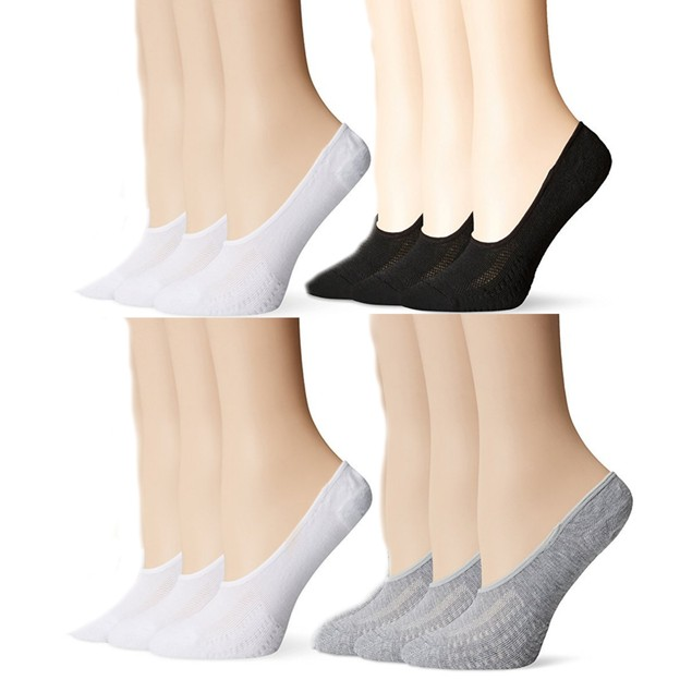Womens No-Show Peds Ultra Low Cut No Show Liner Socks