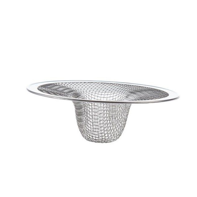 Kitchen Sink Strainers Stainless Steel Basket Drain Protector