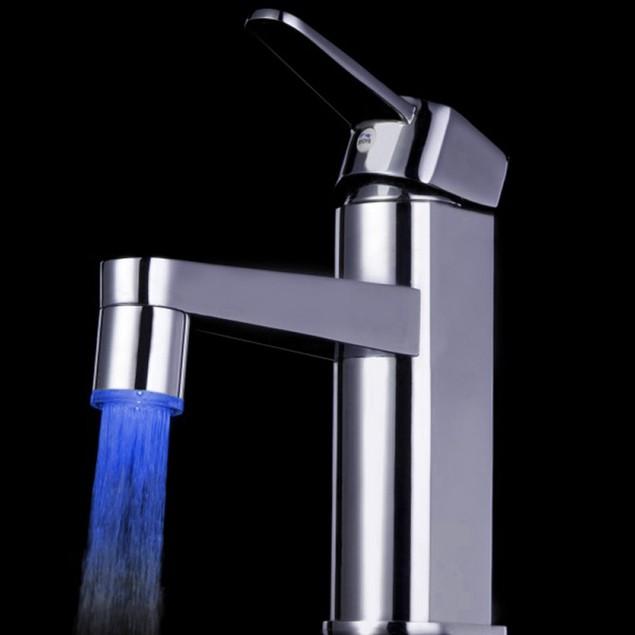 Temperature Sensor 7 Color Faucet Glow LED Light
