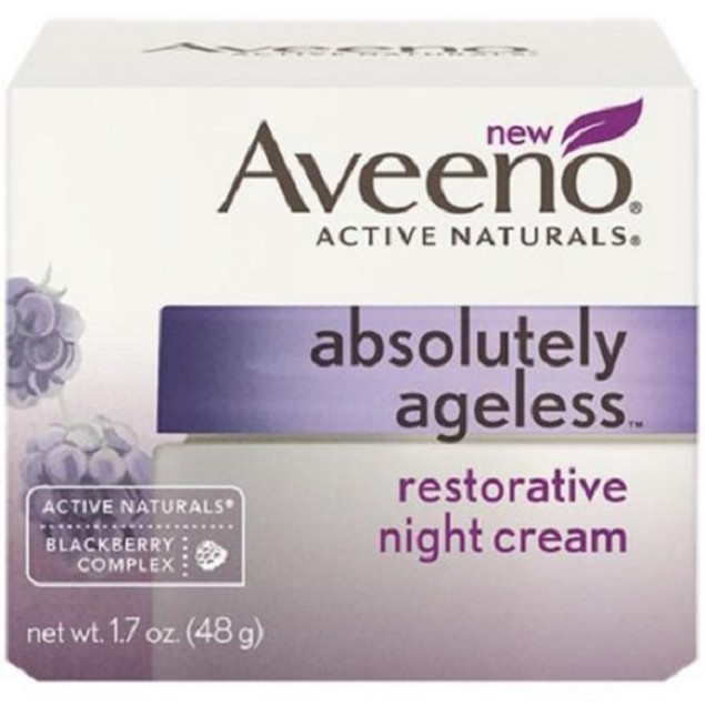 Aveeno Active Naturals Absolutely Ageless Restorative Night Cream