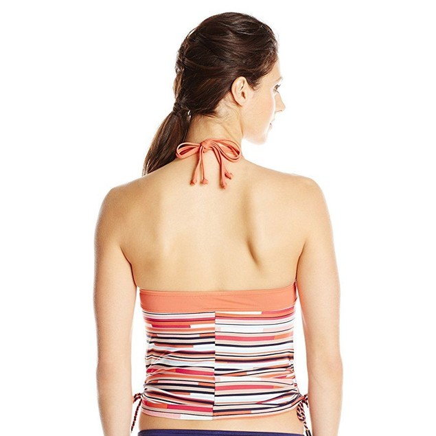 LOLE Women's Jamaica Tankini, SZ:  X-Small, Nougat Multi-Stripes