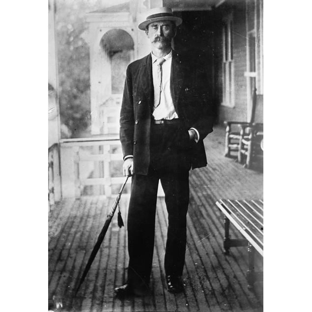 Robert Peary (1856-1920). /Namerican Arctic Explorer. Photograph, C1915. Po