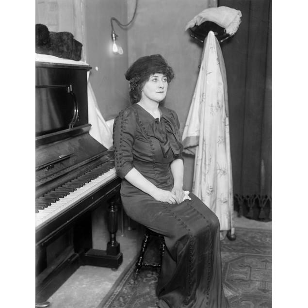 Mary Garden (1874-1967). /Nscottish-American Soprano. Photograph, C1910. Po