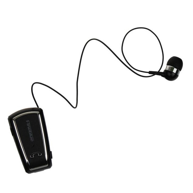 Wireless Clip Retractable Bluetooth 4.0 Headset Earphone For iPhone 6S