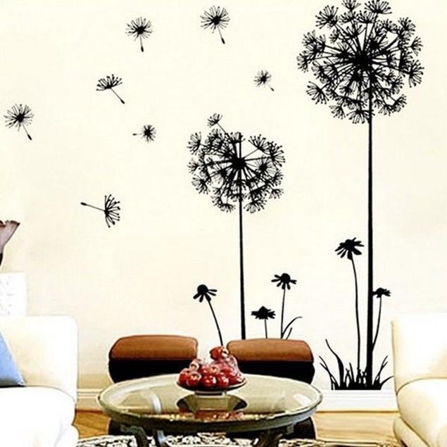 Dandelion Wall Art Decal Sticker Removable Mural PVC Home Decor