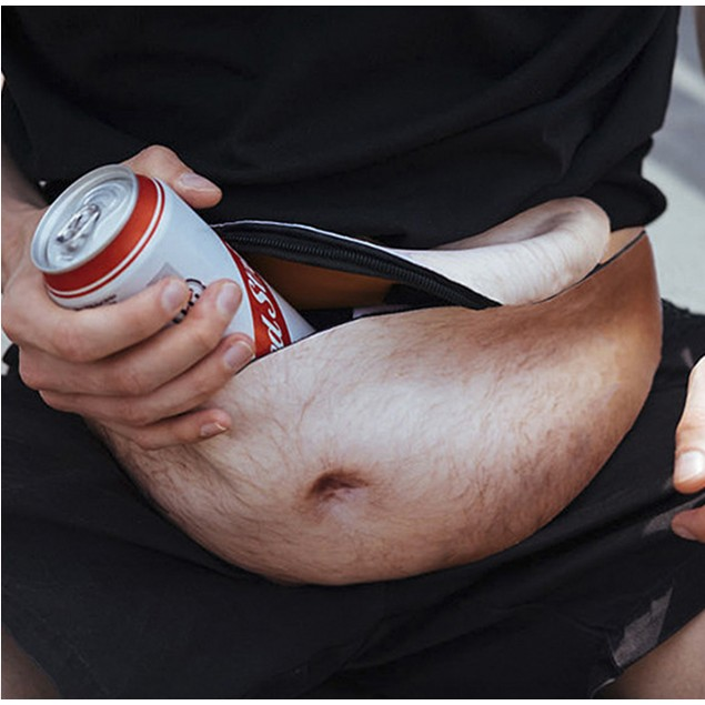 Realistic-Looking Belly Bag