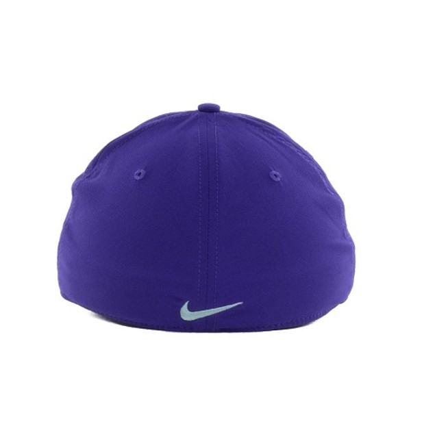 """Kansas State Wildcats NCAA Nike """"Chain Maille"""" Swoosh Flex Fitted Hat"""
