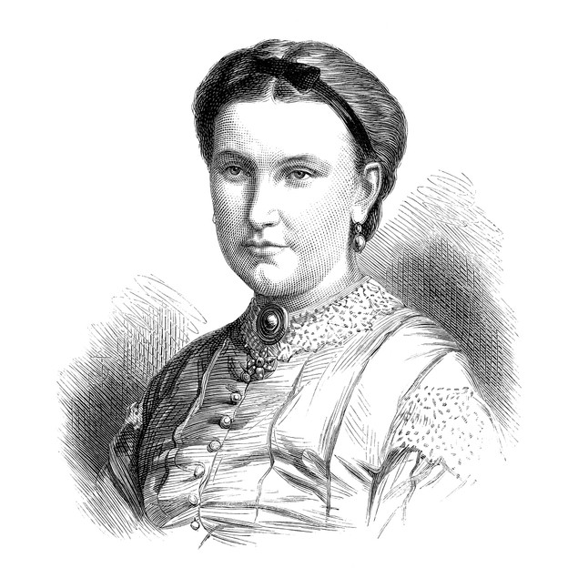 Florence Baker (Fl. 1860-1873). /Nn_E Von Sass. Hungarian Traveler And Wife