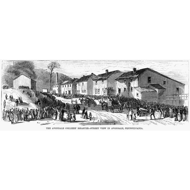 Avondale Mining Disaster. /Navondale, Pennsylvania, Location Of The Avondal