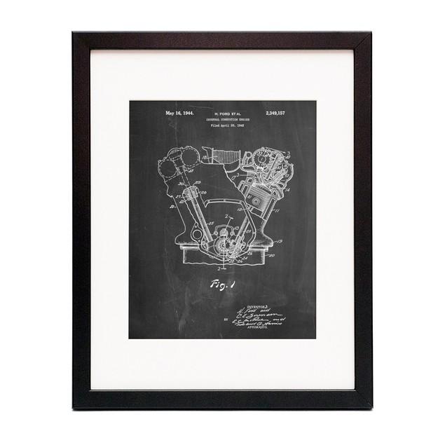 Internal Combustion Engine Poster