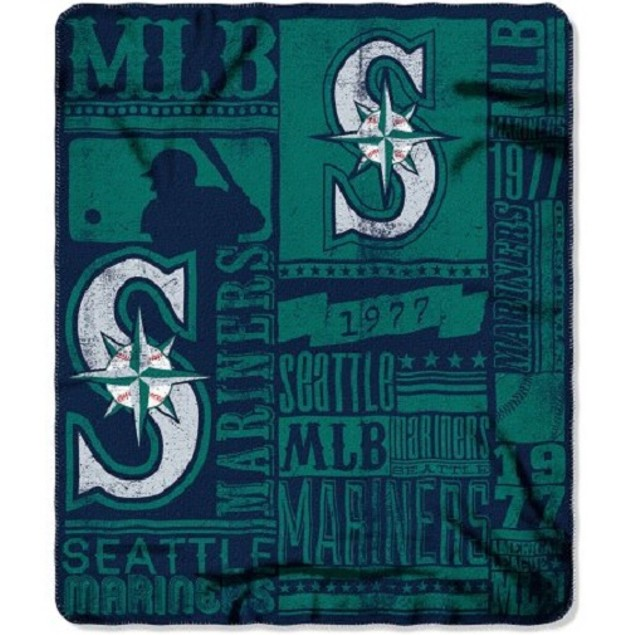 Seattle Mariners MLB Northwest Fleece Throw