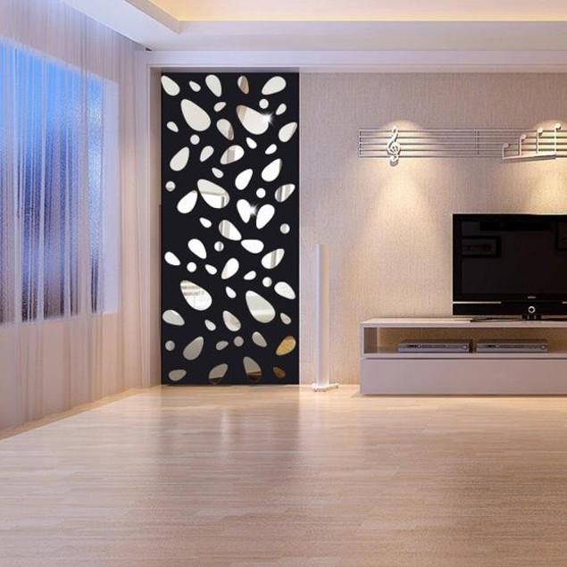 12Pcs 3D Mirror Vinyl Removable Wall Sticker Decal Home Decor