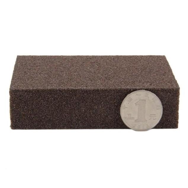 Sponge Carborundum Brush Kitchen Washing Cleaning Kitchen Cleaner Tool