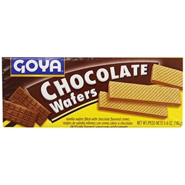 Goya Chocolate Wafers Cookies