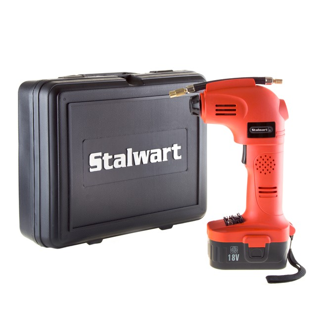 Stalwart 18V Cordless Multi Purpose Air Compressor Tire Inflator