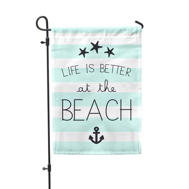 "Life Is Better at the Beach Festive Flag 12.5""x18"""