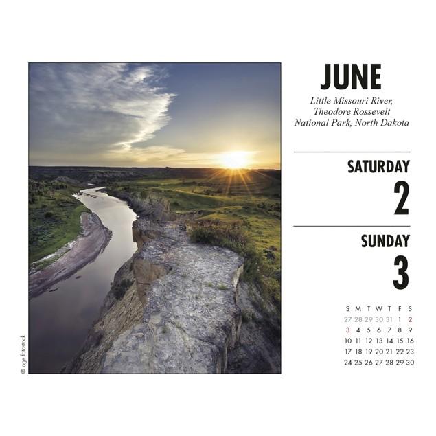 America the Beautiful Desk Calendar, Scenic America by Calendars