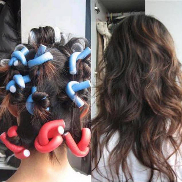 10 Piece Hair Curlers
