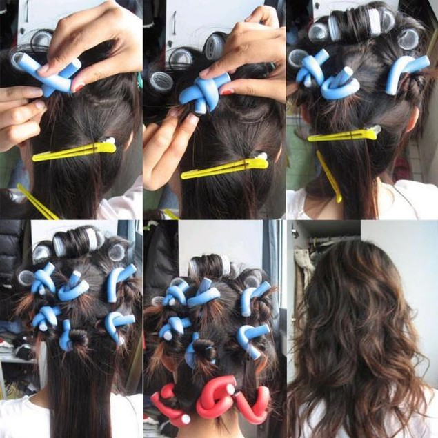 10 Piece Hair Curlers