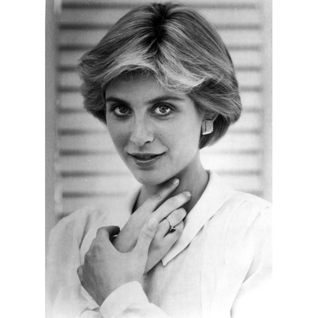 Helen Slater Portrait Hand on Neck in White Long Sleeve Polo Poster