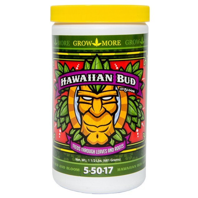 Grow More Hawaiian Bud, 1.5 lbs