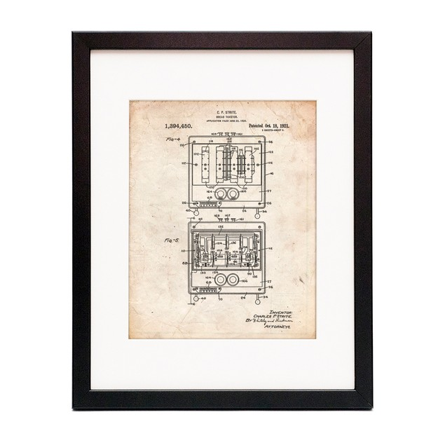 Toaster Patent Poster