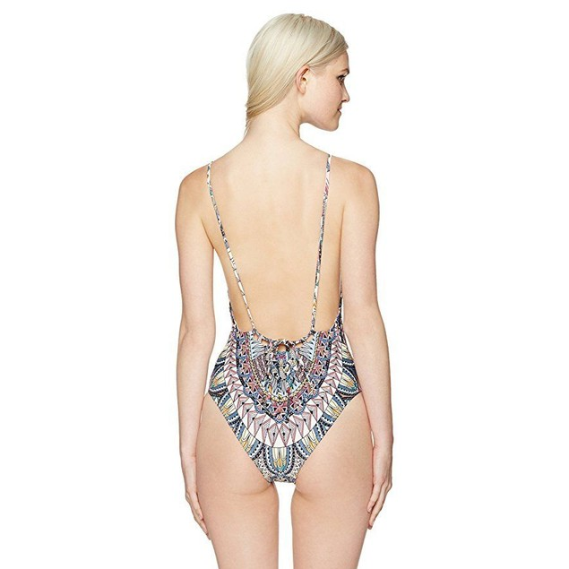 Billabong Women's Dreamer One Piece Swimsuit, Multi, M