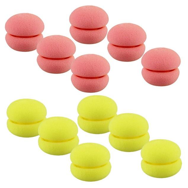 6pcs Soft Sponge Hair Care Foam Balls Hair Curler