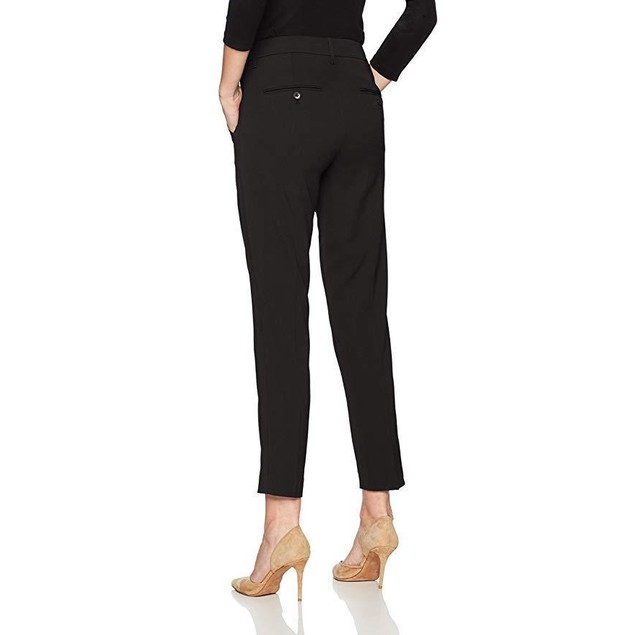 Vince Women's Stitch Front Strapping Pant, Black, 0