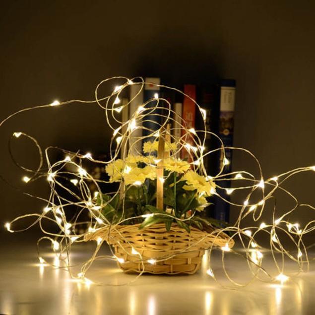 5PCS Cork Shaped LED Night Light Starry Light Wine Bottle Lamp For Decor