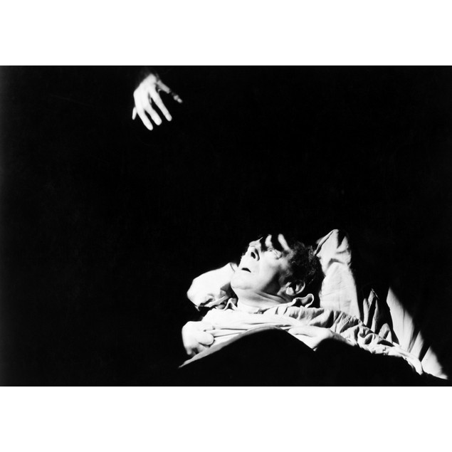 Silent Still: Scrooge. /Nfilm Still From 'Scrooge,' 1922. Poster