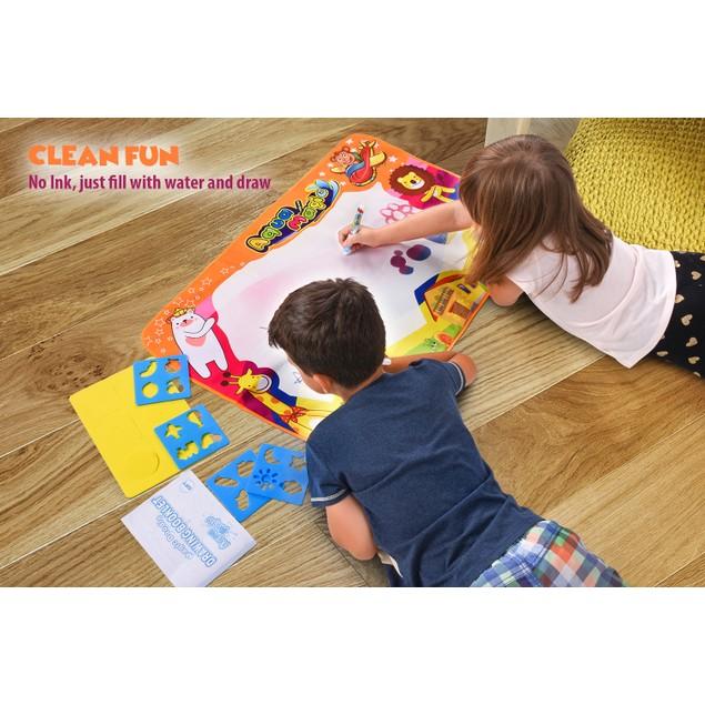 Magic Aqua Board Large Water Drawing Mat for Kids