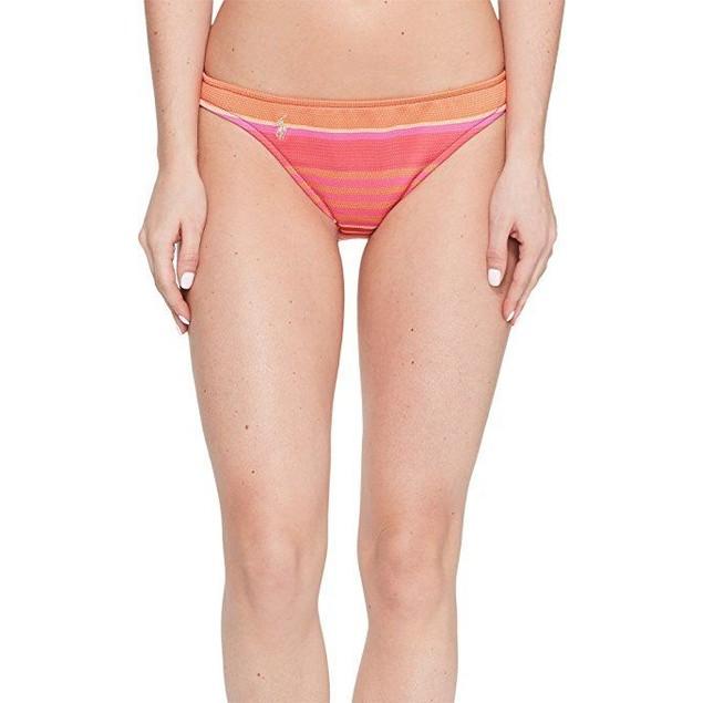 Polo Ralph Lauren Womens Playa Stripe Taylor Hipster Bottom SZ: XS