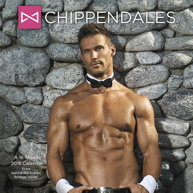 Chippendales Wall Calendar, Hot Guys by ACCO Brands