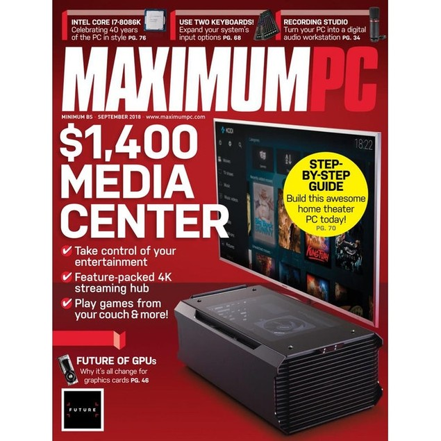 Maximum PC Magazine Subscription