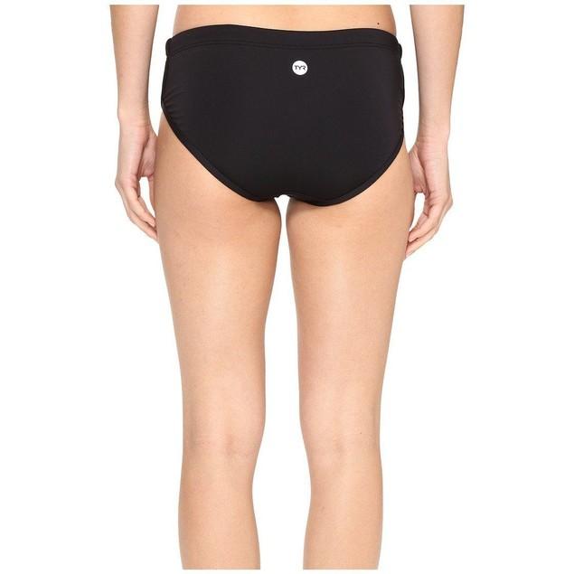 NWT TYR Womens Solid Zola hipkini, Black Bikini BOTTOMS SIZE XS (0/2)