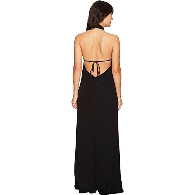Flynn Skye Women's Ariana Maxi Dress Black Small