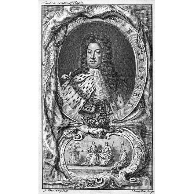 King George I (1660-1727). /Nking Of Great Britain And Ireland, 1714-1727.