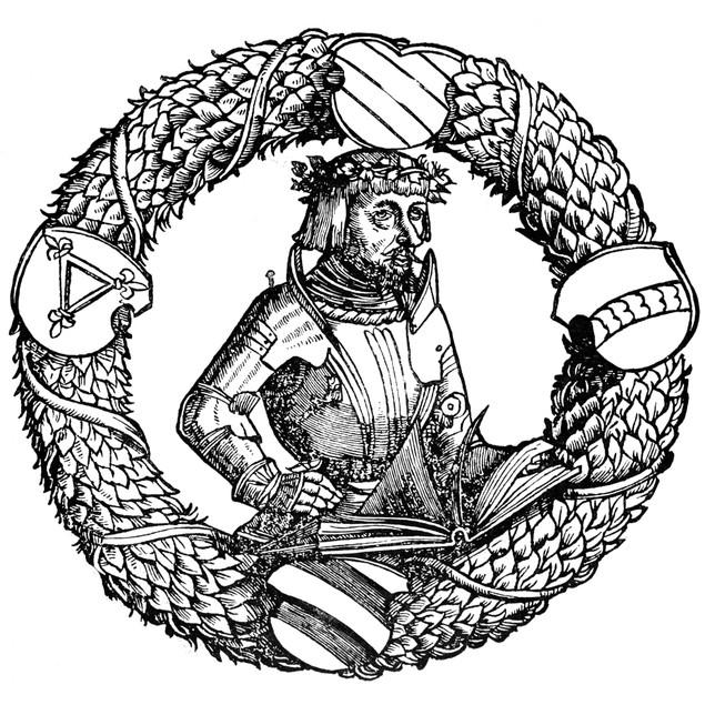 Ulrich Von Hutten (1488-1523). /Ngerman Nobleman And Humanist. Woodcut, 152