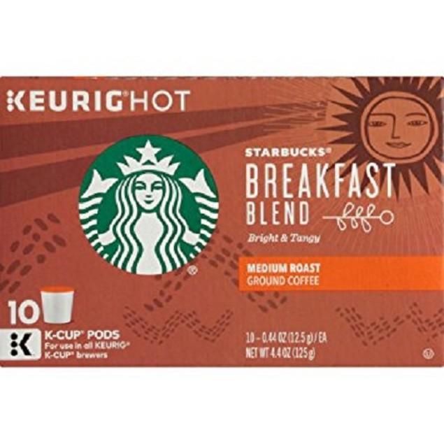 Starbucks Breakfast Blend Keurig K-Cups