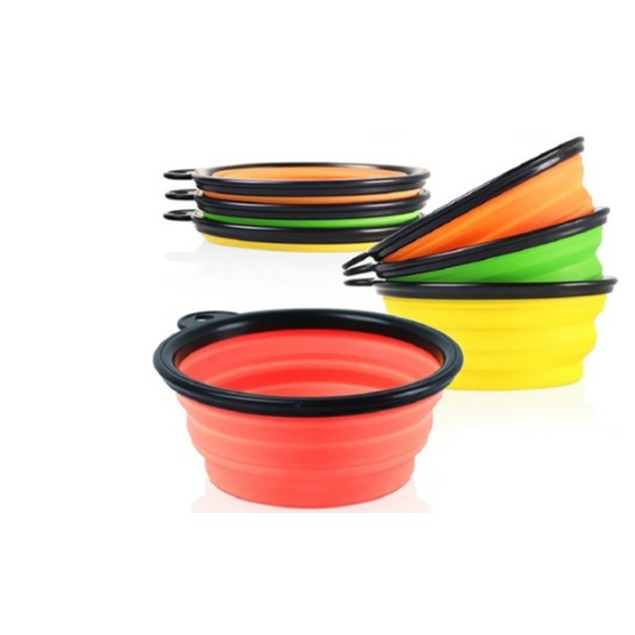One And Only USA  Premium New Collapsible Pet Feeding Bowl Set