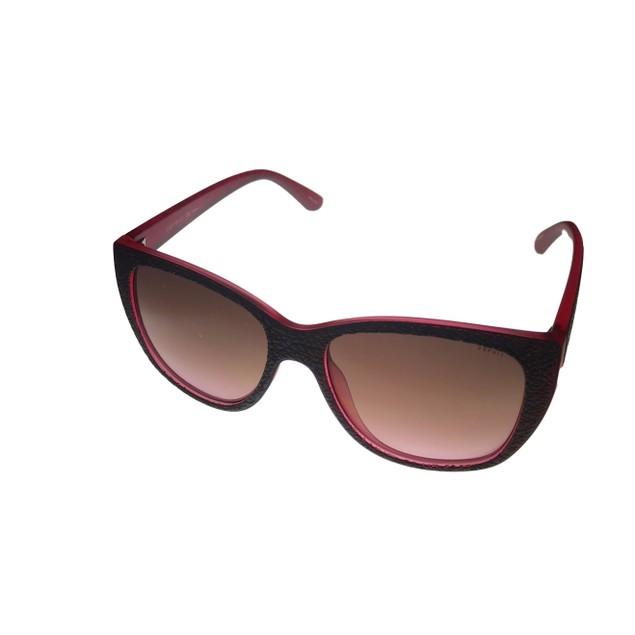 Esprit Womens Sunglass Plastic Soft Cat Brown on Brown Smoke Lens 19487 534