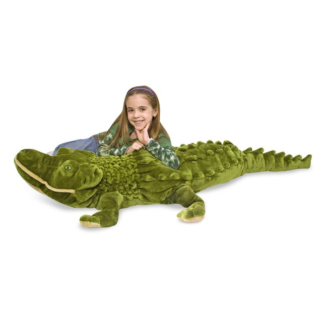 Melissa & Doug Alligator-Plush (pack Of 1)