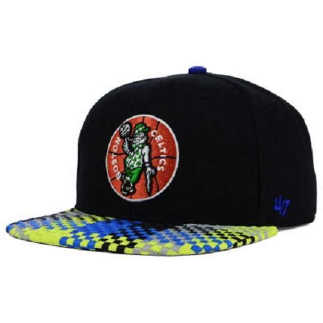 "Boston Celtics NBA 47 Brand ""Ruffian"" Snapback Hat"